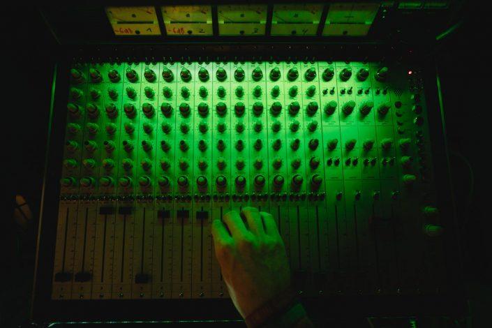 Mischpult Tonstudio