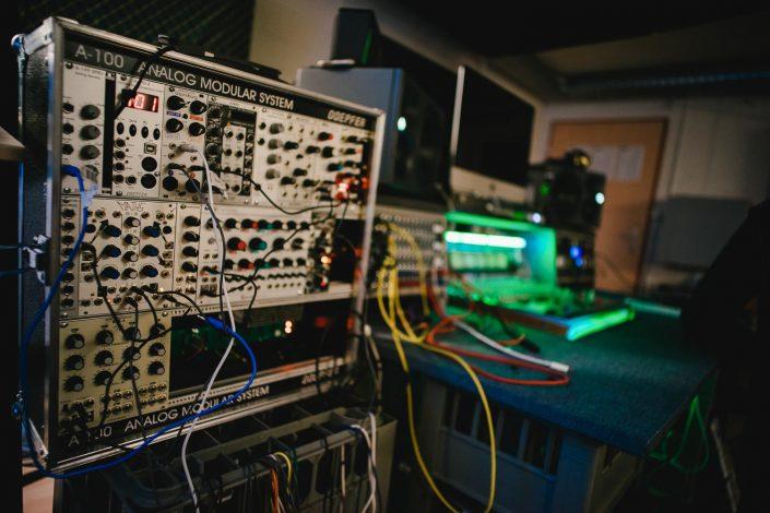 A 100 Analog Modular System Studio