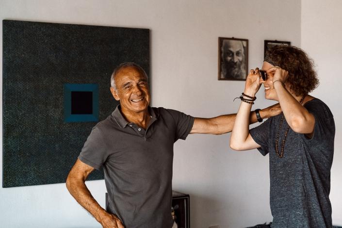 Peter Dittmar und Fotograf Sören Funk