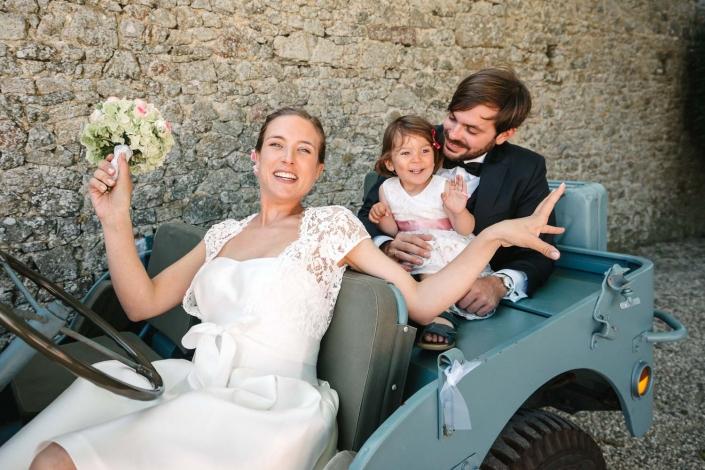 Familien Brautpaar
