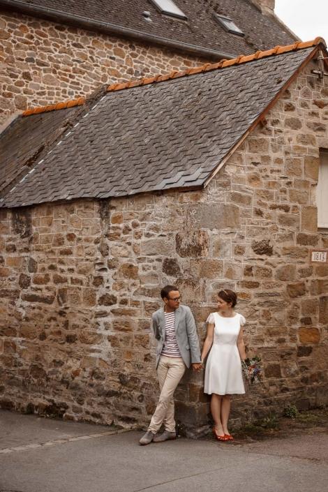 Brautpaar in Frankreich