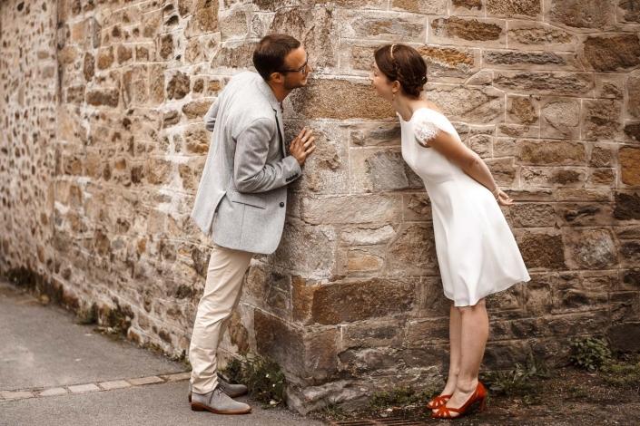 Süsses Brautpaar