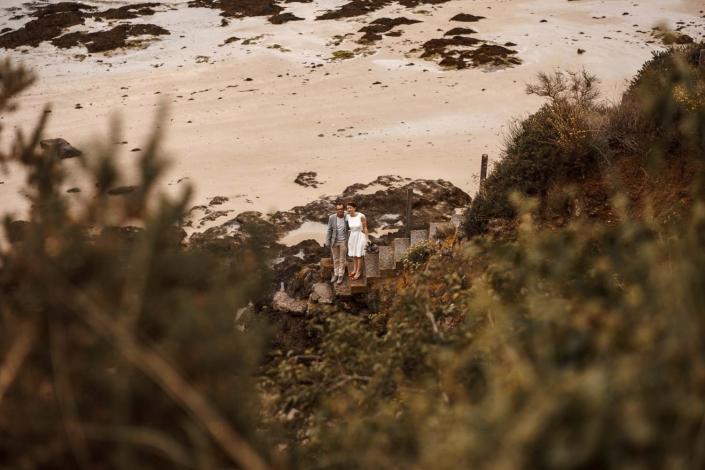 Brautpaar im Sand