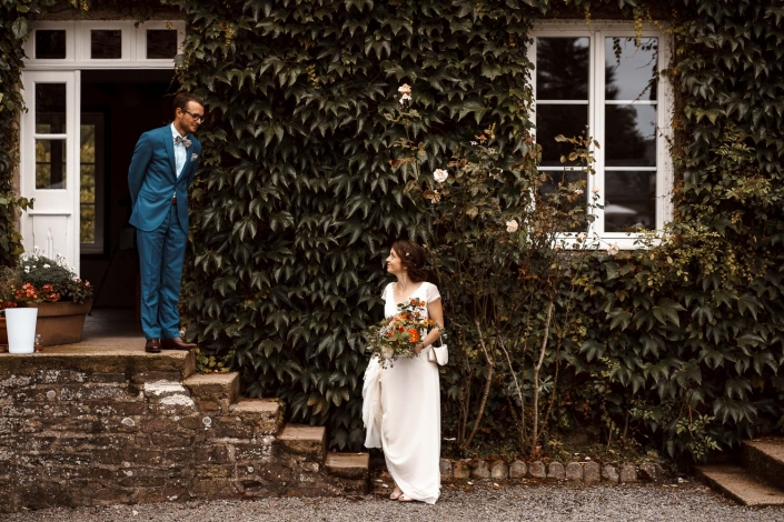 Braut und Bräutigam Fotoshooting